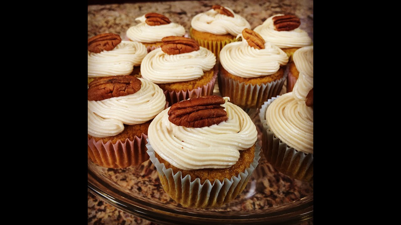 Pumpkin Cupcakes With Maple Cream Cheese Frosting Gluten