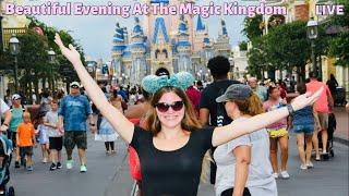 Beautiful Evening At The Magic Kingdom