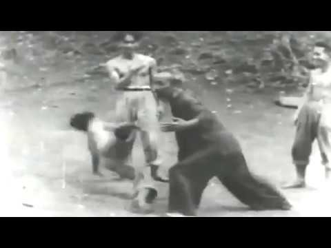 Ho Chi Minh training martial art with Vietnam Army