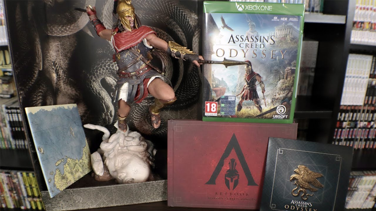 Assassin S Creed Odyssey Medusa Edition Unboxing Youtube