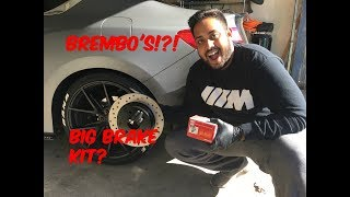Installing Rear Brembo Brakes on 2015 Honda Accord!