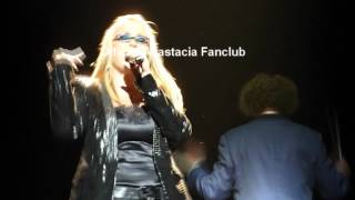 "Anastacia performing her new single ""Best Of You"" in Sweden at Night Of The Proms"