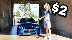 HOW TO WASH YOUR CAR FOR UNDER $2.00!