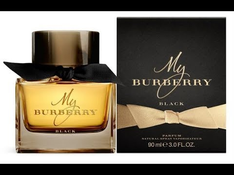 My Burberry Black Parfum Fragrance Review 2016 Youtube