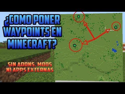 ¿Como Poner WAYPOINTS, En Minecraft? Sin Mods, Ni Apps Externas