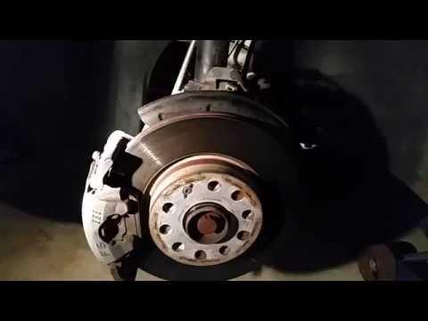 Mk6 (2011+) Volkswagen Jetta brake caliper/brake pad removal