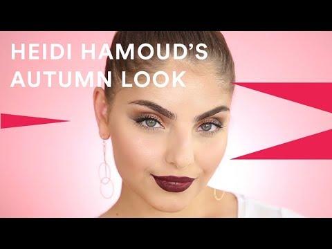 How To: Autumn Glam Beauty With Heidi Hamoud