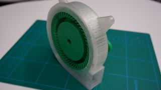 Assembling mechanical 3d printed fan