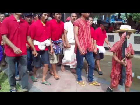 Marching Band SMA Katolik Rantepao Unjuk Kebolehan di HUT Torut