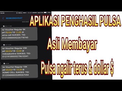 APLIKASI PENGHASIL PULSA & DOLLAR DIJAMIN MEMBAYAR / MAKE MONEY ONLINE