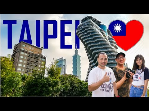SO HOT IN TAIPEI! 🌡 |  Taiwan Summer Vlog 4 | VISA-FREE!!!