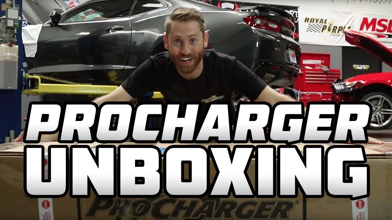 Pony Wars: ProCharger D1X Stage 2 Unboxing for Camaro & Mustang
