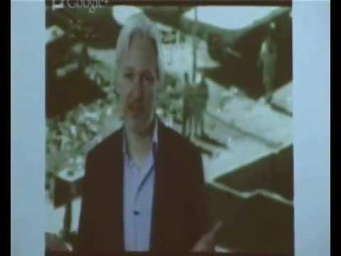 Conferencia de Julian Assange (Wikileaks) para Uruguay - Montevideo WebTV