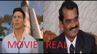 Real Life Characters of movie Mission Mangal