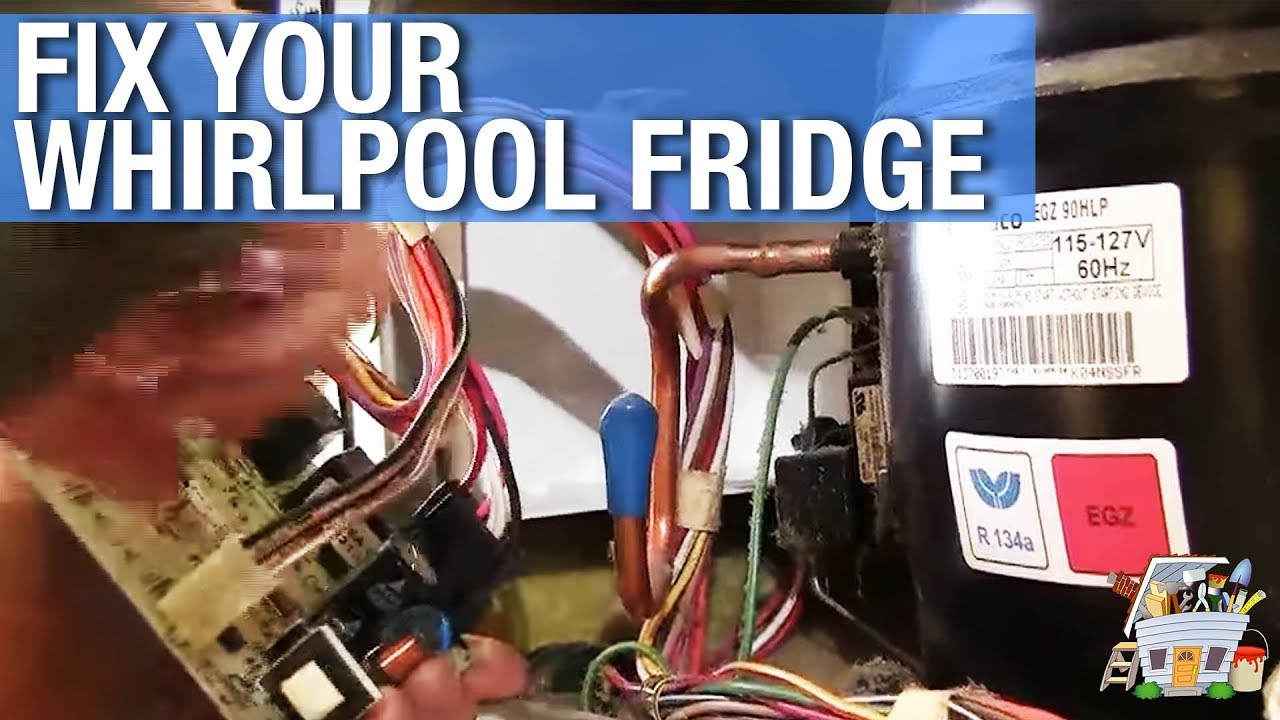 How To Repair a Whirlpool Refrigerator  YouTube