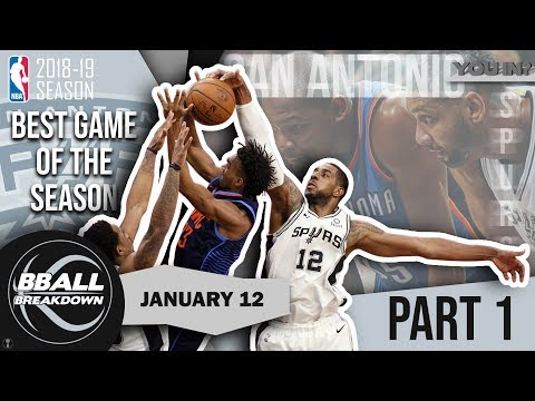 Aldridge And Westbrook Treat Us To The Best Game Of The Year: Thunder At Spurs