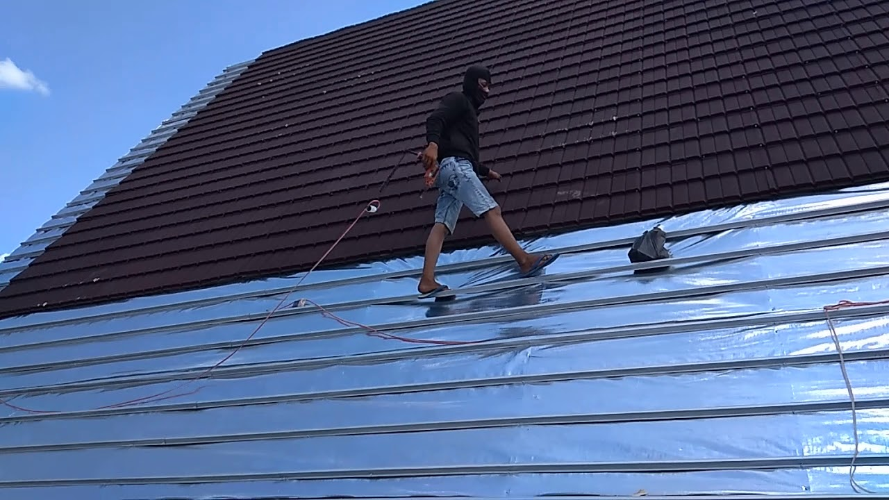atap baja ringan di pekanbaru pemasangan zig zag youtube