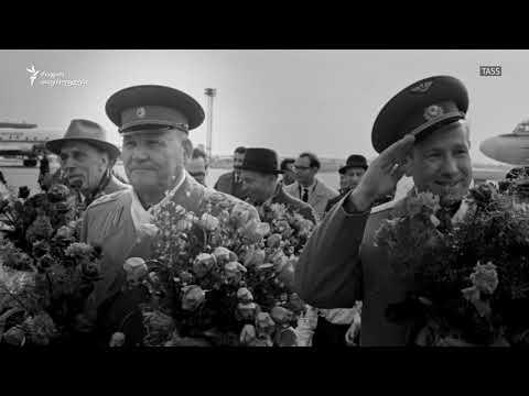 Protest in Czech republic against Soviet general monumental