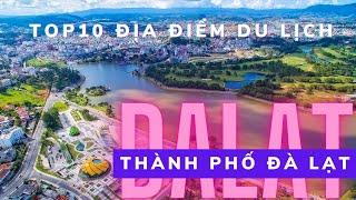 DaLat flycam: Tổng hợp những địa điểm du lịch ở thành phố Đà Lạt nổi tiếng nhất 2017 | P1