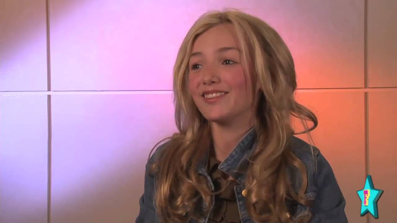 Peyton List talking for 'Diary of a Wimpy kid Rodrick ...