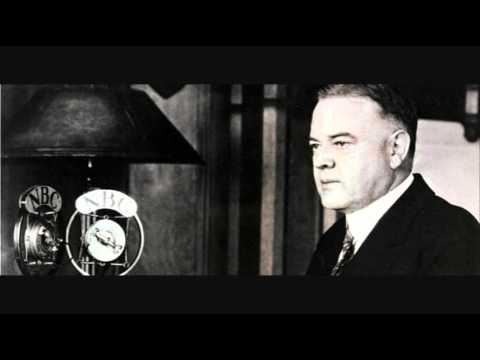 President Hoover's 1931 stimulus plan
