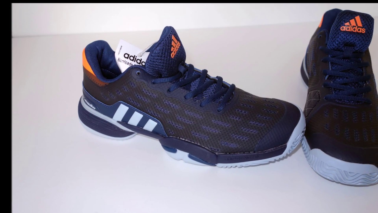 adidas mens barricata mistero blu, scarpe da tennis su youtube