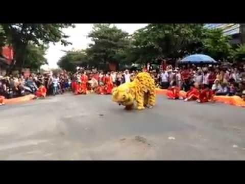 Múa Lân tại lễ hội truyền thống Gia Lộc - Hải Dương