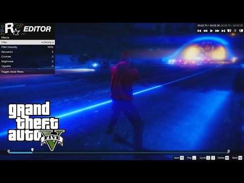 GTA 5 PC: Rockstar Editor Beginners Guide - How to Record, Edit and Export