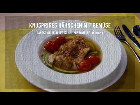 Knuspriges Hähnchen | Panasonic Mikrowellen-Rezept