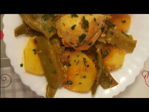 recette-aux-haricots-plats-et-aux-pommes-de-terre