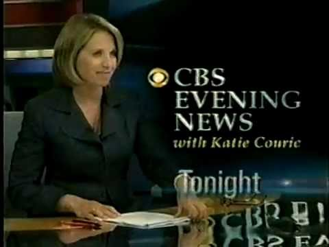 june 25 2007 promo for cbs evening news with katie couric youtube