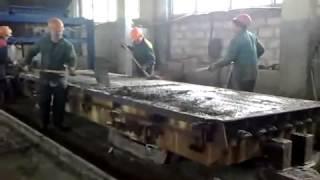 Производство ЖБИ на заводе