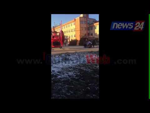 Aksidenti në Korçë, 10-vjeçari në gjendje të rëndë niset drejt Tiranës