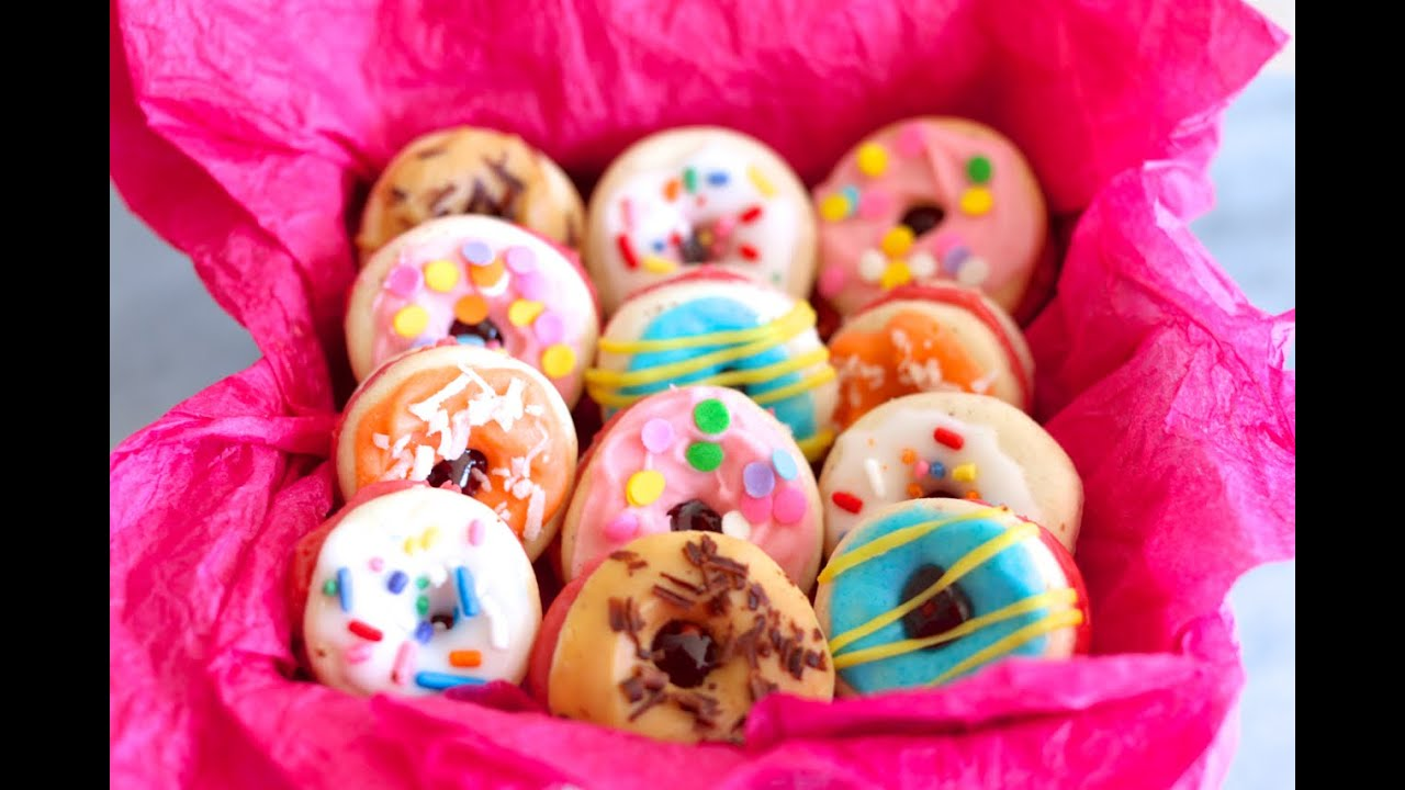 """French Macaron """"Donuts"""" (Easy to Make Recipe)"""