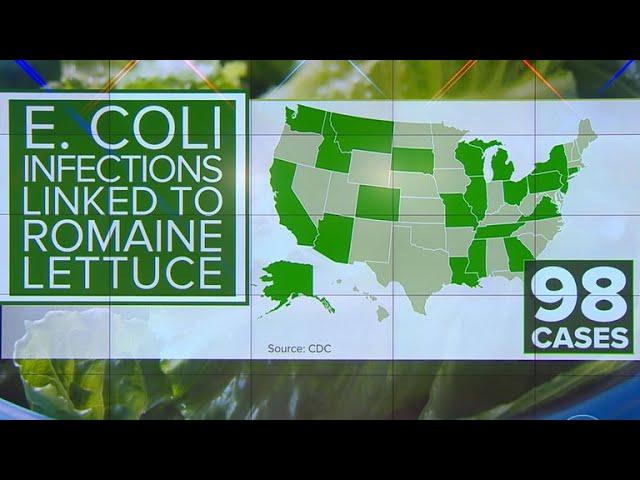 E. coli outbreak spreads to 3 more states