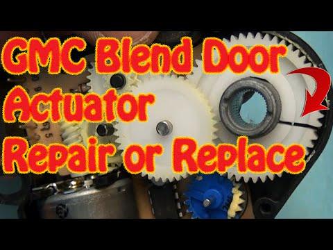 Blazer Jimmy Blend Door Actuator Replacement Hvac Doovi
