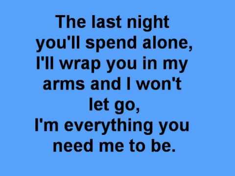 The last night lyrics karaoke (skillet piano cover)