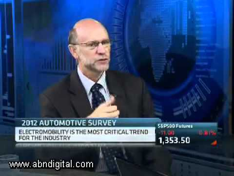 2012 Global Automotive Executive Survey with Gavin Maile