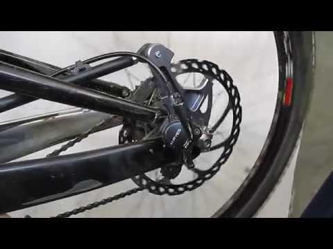 how to change brake pads on hybrid bike