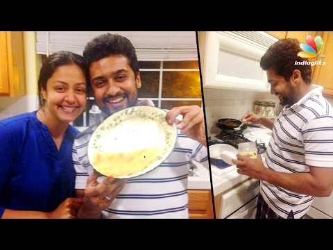 Viral : Surya makes the perfect 'dosa' for...