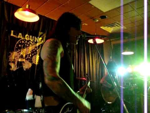 "L.A. GUNS""Never Enough""Unplugged4/8/10 Newark, DE"