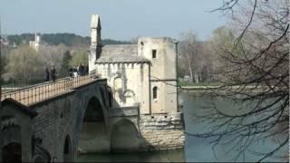 Le pont d'Avignon (Avignon - Vaucluse - France)
