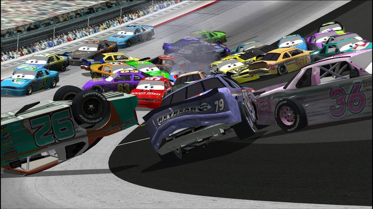 Can I Recreate The Dinoco 400 Cars Big One?