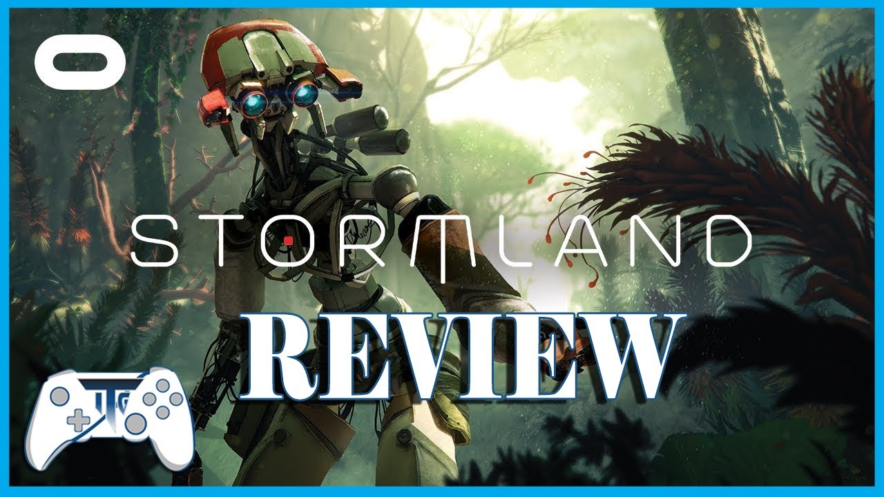 Stormland VR Review (Video Game Video Review)