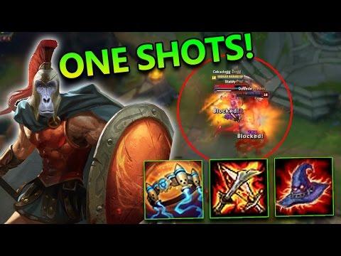 FULL AP PROTOBELT PANTHEON MID ONE SHOTS - League of Legends Commentary