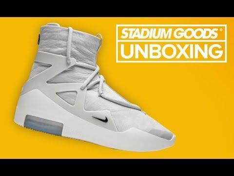 c8c3c73751 Fear of God x Nike 2018 Collection | Stadium Goods Unboxing - YouTube