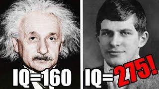 Die 10 intelligentesten Menschen aller Zeiten!