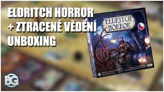 Eldritch Horror + Ztracené vědění - UNBOXING