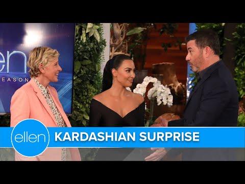 Jimmy Kimmel Gifts Ellen with This Superstar!