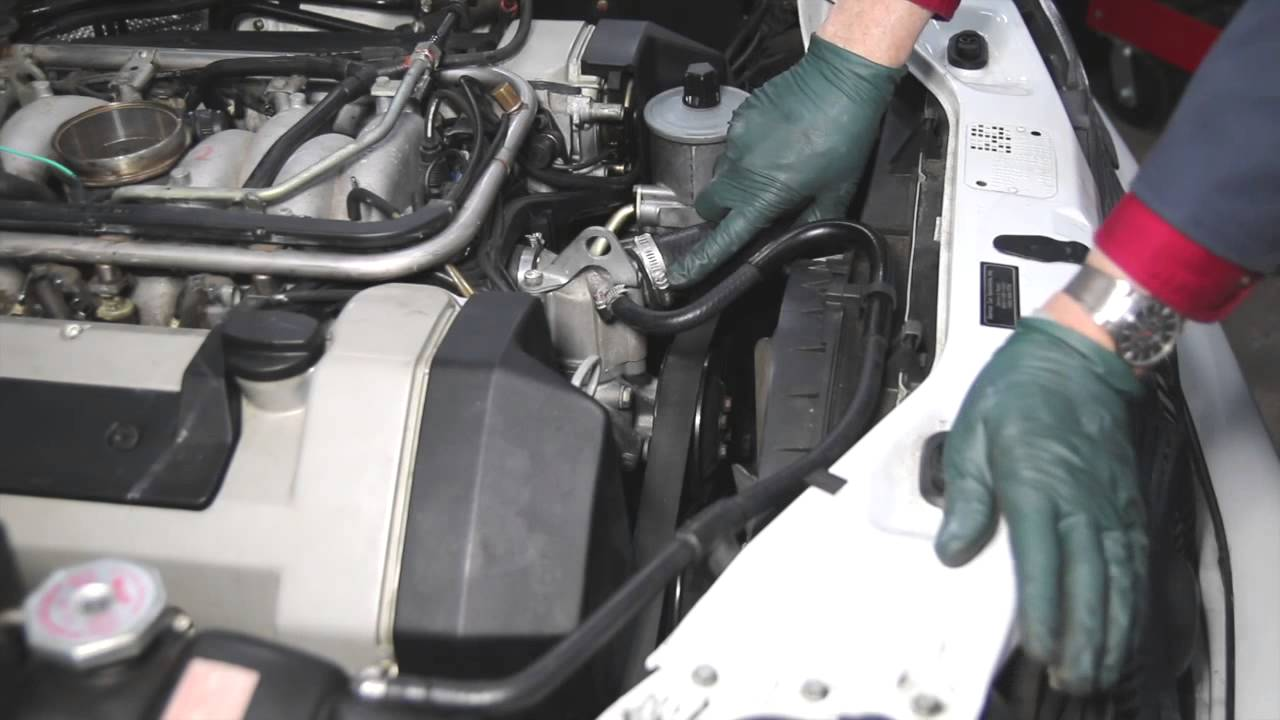 Mercedes M119 V8 Engine Inspection Part 2: Hoses and Belt  YouTube